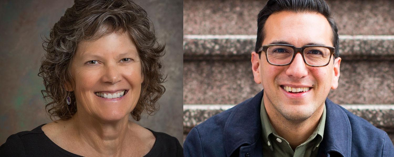 (Left) Dr. Mary Dozier, a developmental psychologist at the University of Delaware; (Right) Dr. Jamil Zaki, a social neuroscientist at Stanford University