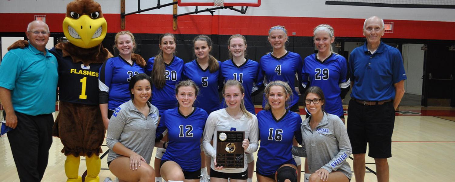 The East Liverpool Potters won the 2021 Volleyball Classic