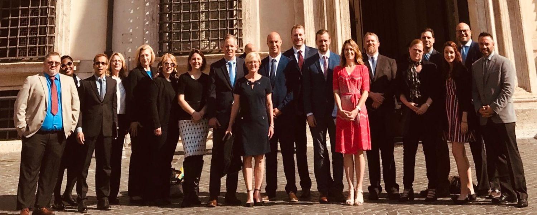 EMBA program travels to Italy