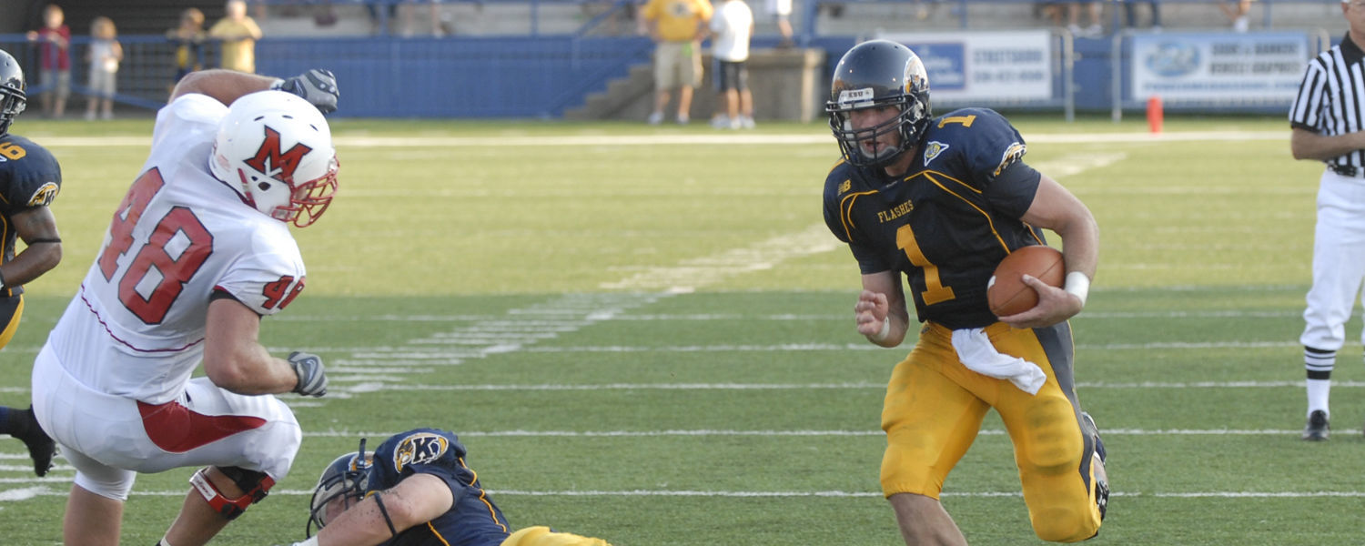 Julian Edelman, Kent State's Former Quarterback, is proud of his alma mater