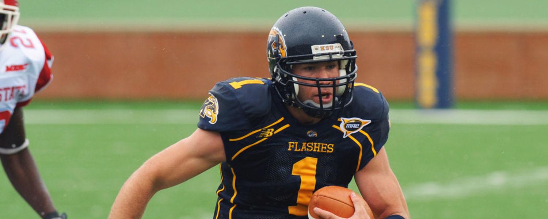 Former Kent State University quarterback Julian Edelman releases a new memoir.