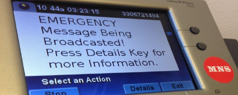 mass notification system