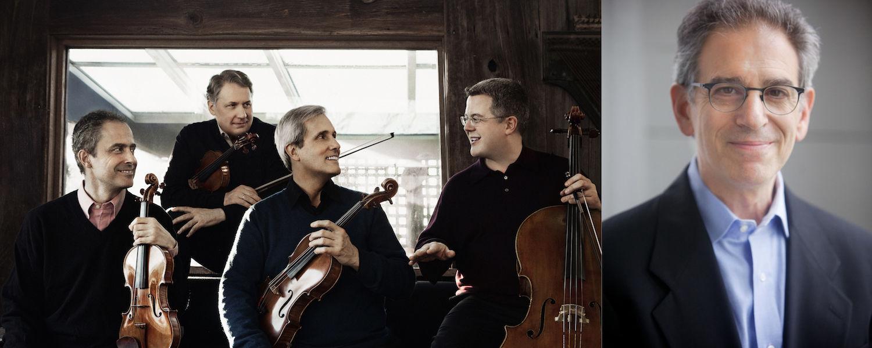 Emerson String Quartet with cellist Jerry Grossman