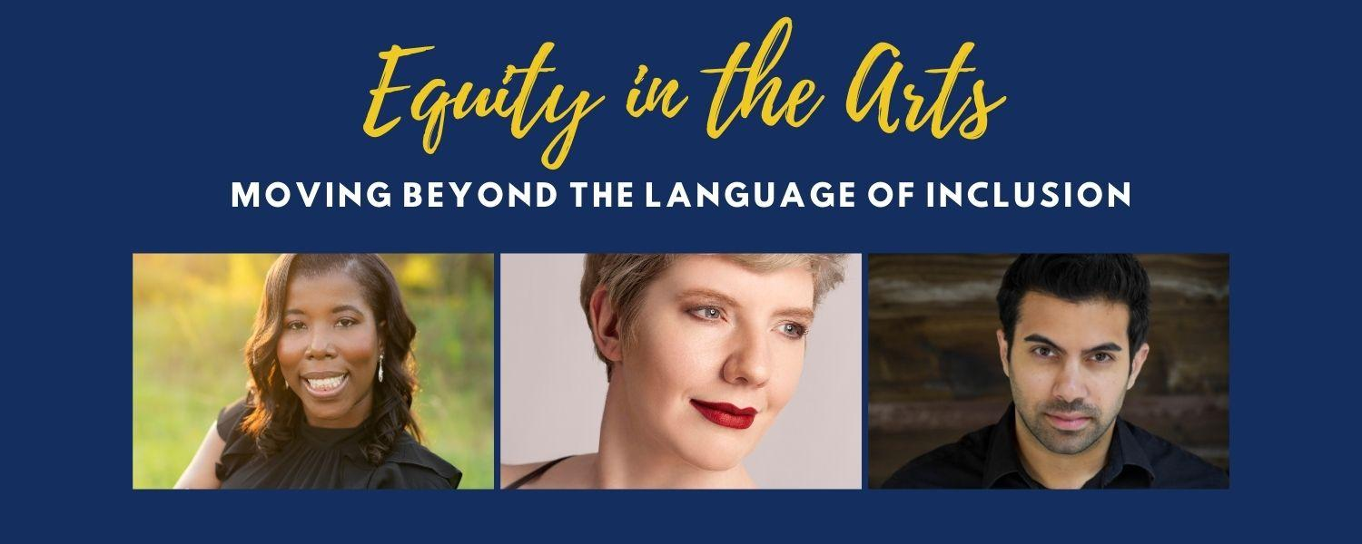 Equity in the Arts panel