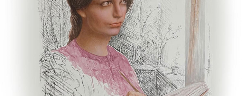 Eunice Foote Illustration by Mark Balma