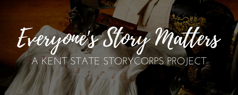 Everyone's Story Matters header image