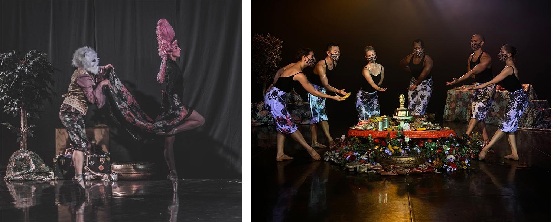 Stills from FEAST: a ballet
