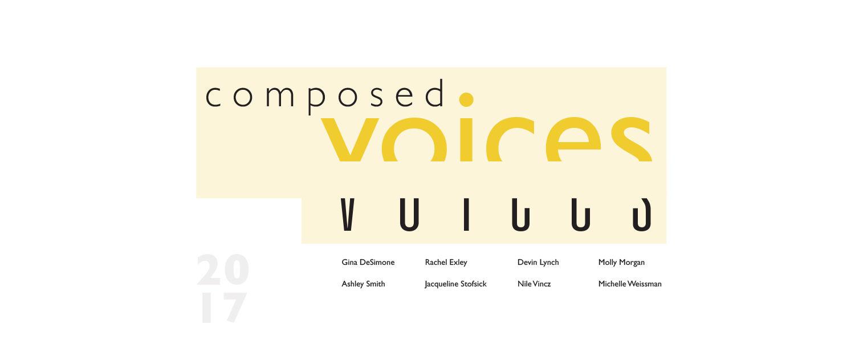 Composed Voices - 2017 Photo-Illustration Senior Exhibition