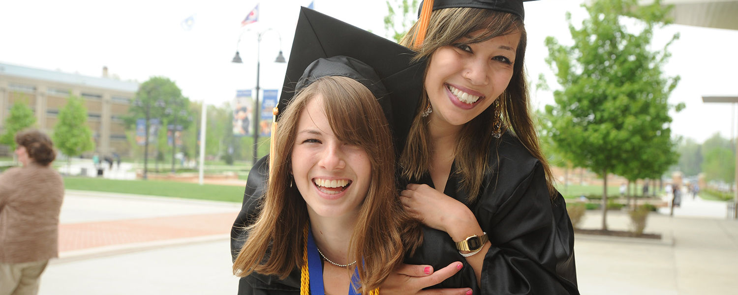 """Kent State is embarking on a campaign called """"Formula to Finish"""" to motivate and assist students toward  timely graduation."""