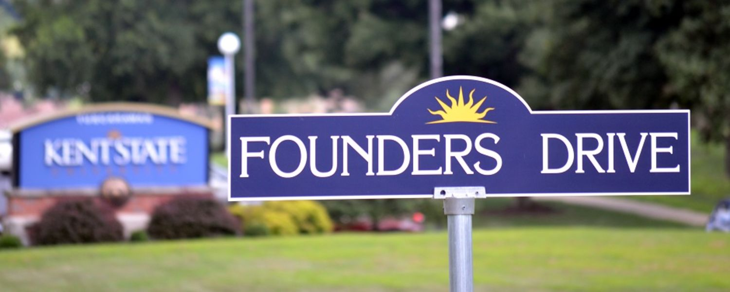founders drive sign
