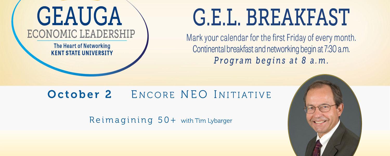 Encore NEO Initiative presents at October's GEL Breakfast