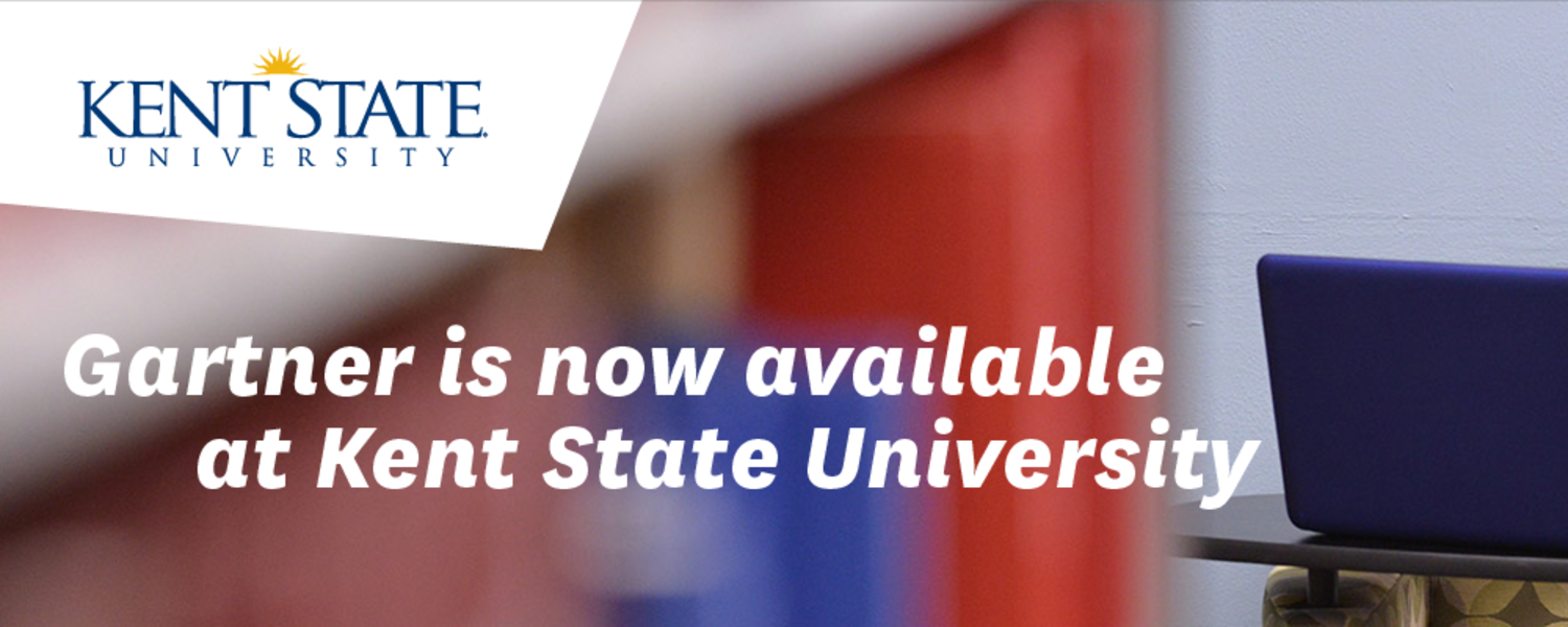 Gartner is now available at Kent State University