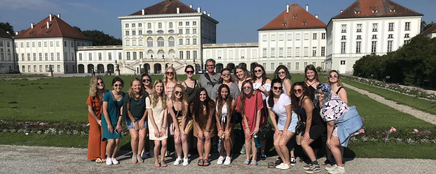 Students studying abroad in Germany