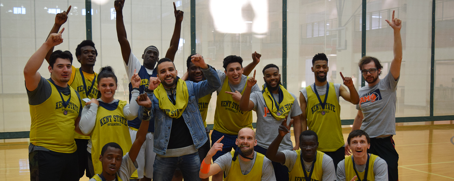 Team ILEP celebrates after being crowned GlobalJam Champs