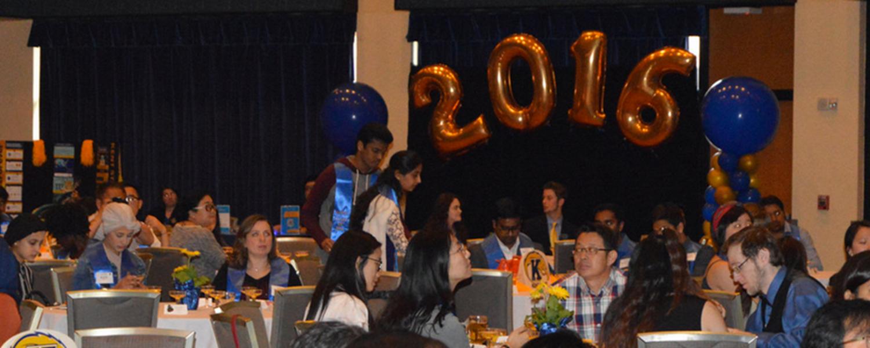 International graduation reception
