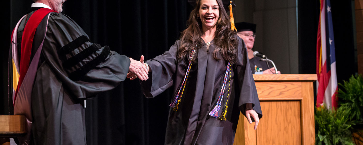 Kent State University at Stark held Commencement on Sunday, May 10