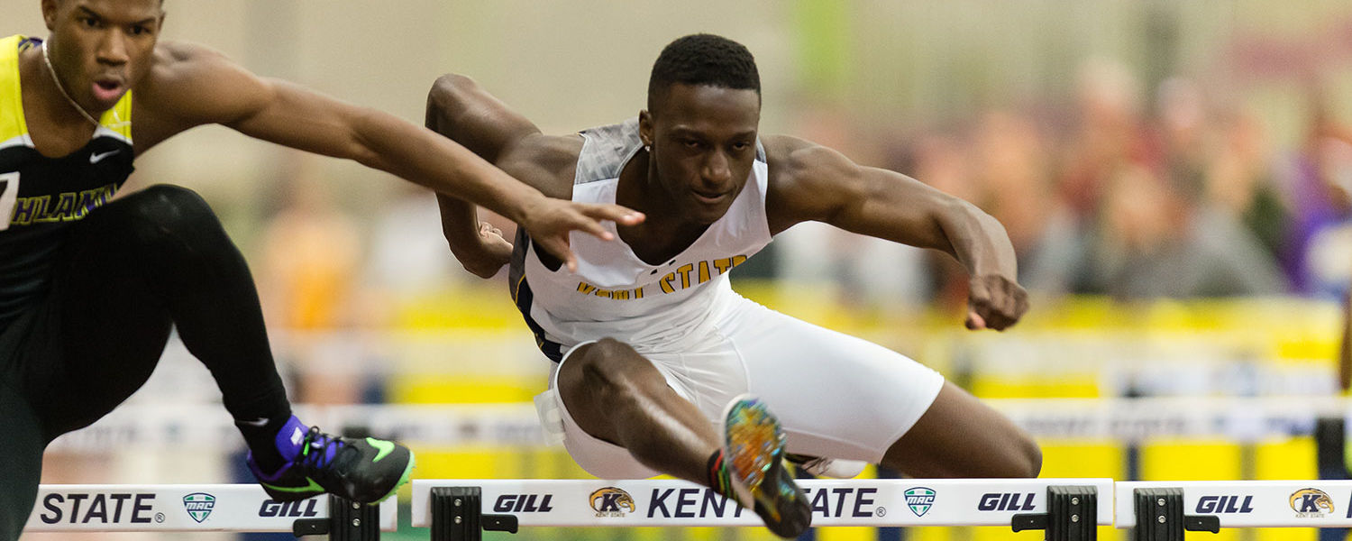 Kent State student-athlete Richard Dahome from the track and field team is preparing to share his secrets to his success by launching a series of athletic camps for students third grade through high school, taught by some of the best athletes in the world