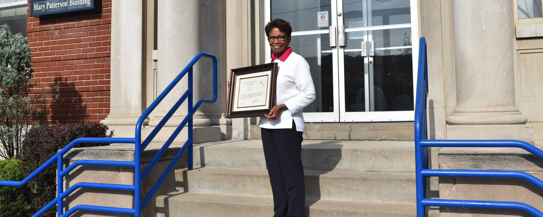 Harriett Bynum Receives State's Highest Honor for OTA