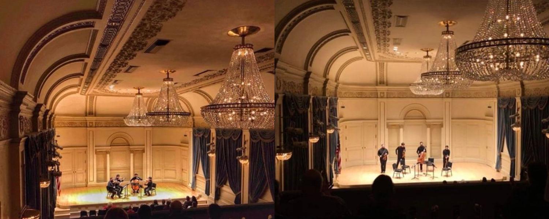 Heimat in Weil Recital Hall, Carnegie Hall