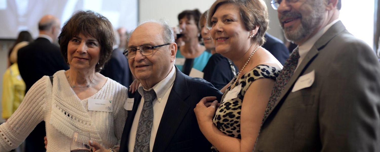 Herb Hochhauser at the Jewish Studies Program 40th Anniversary Celebration