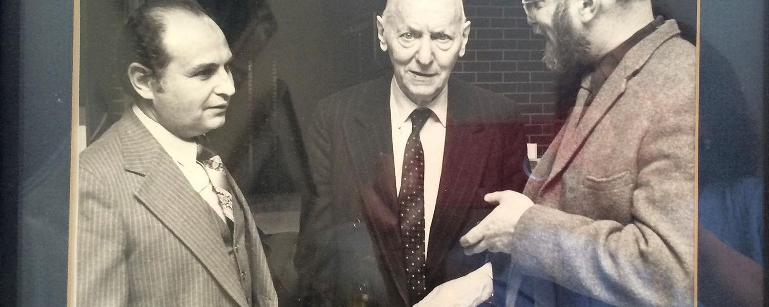Herb with Isaac Bashevis Singer