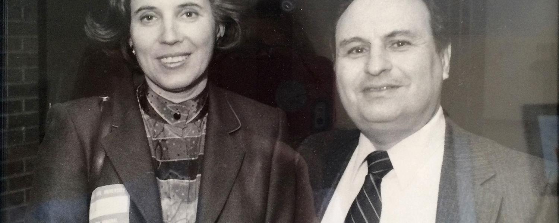 Herb with Beate Klarsfeld