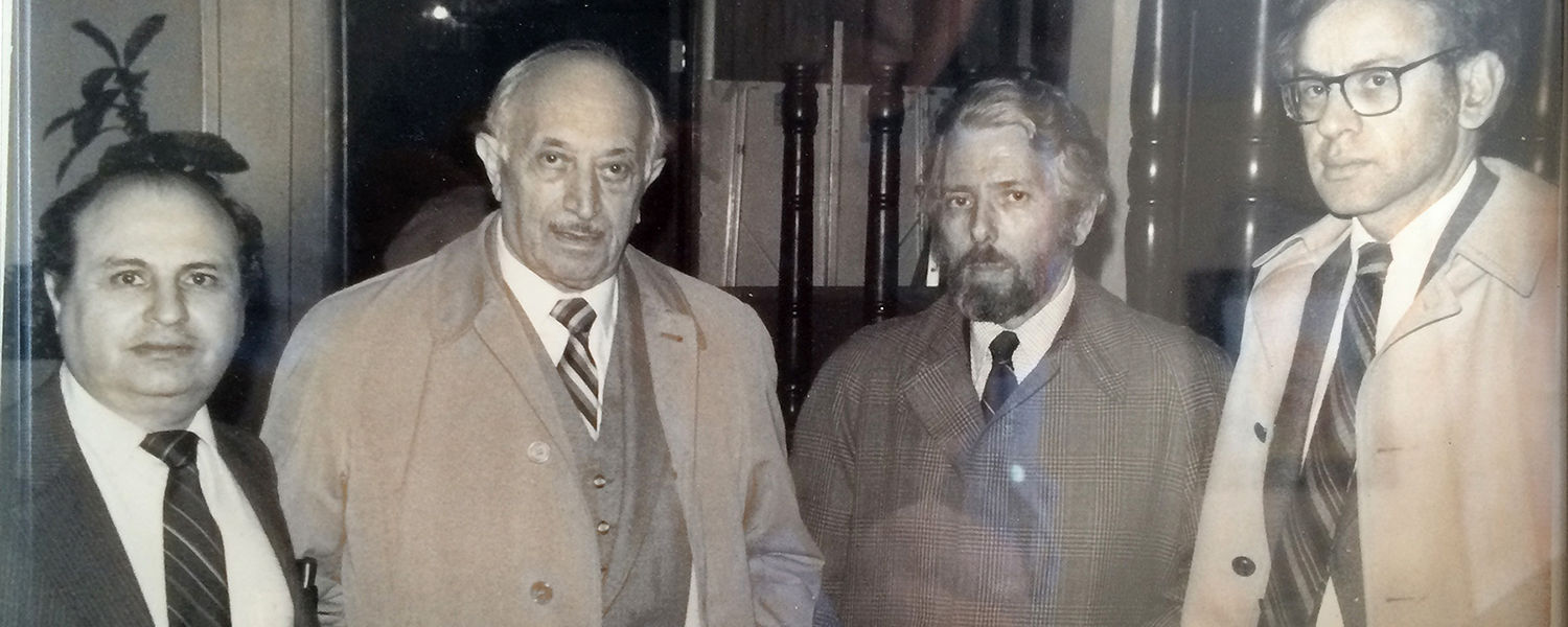 Herb with Simon Wiesenthal