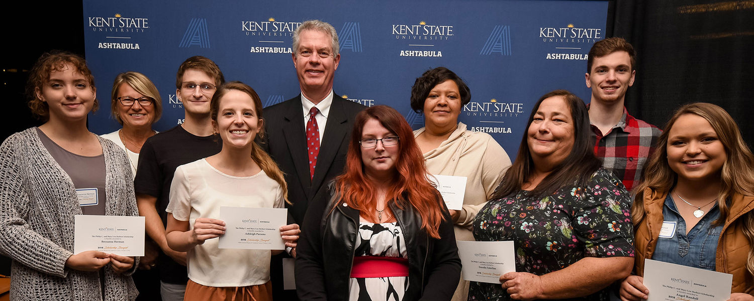 Kent State at Ashtabula Recipients of the Phillip C. and Mary Lou Herbert Scholarship