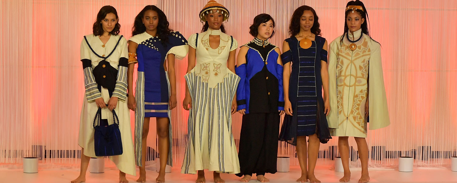 Yayra Tamakloe's collection, winner of Best in Show Award