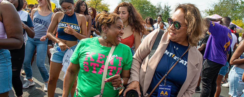 Campus Members Celebrate Homecoming