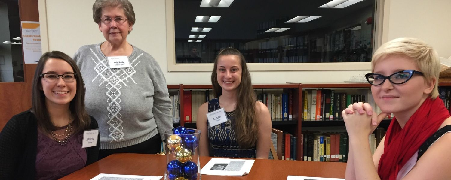 Students at the Honors College Donor Recognition Event
