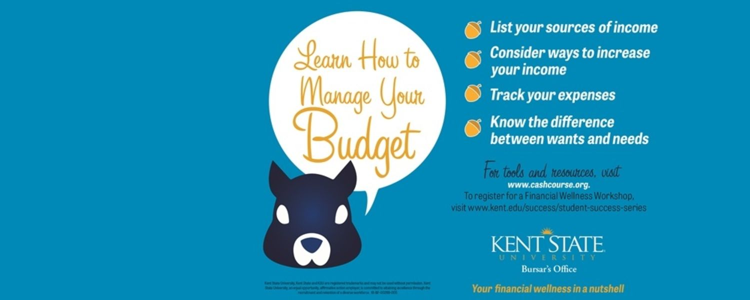 Learn how to manage your budget.