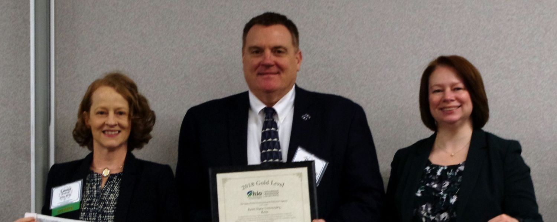 Kent State Receives Ohio EPA Environmental Excellence Awards