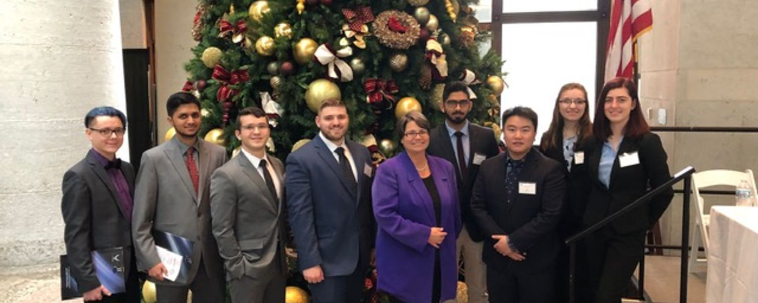 Students represent Kent State's CAE at Ohio Aerospace Day