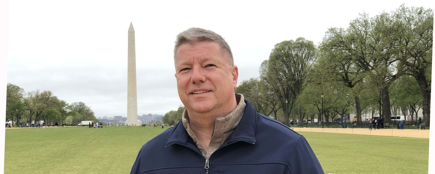 Eric Mansfield in Washington, D.C.