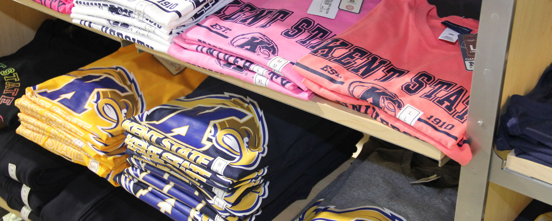 T-Shirts Available at the Kent State Ashtabula Bookstore