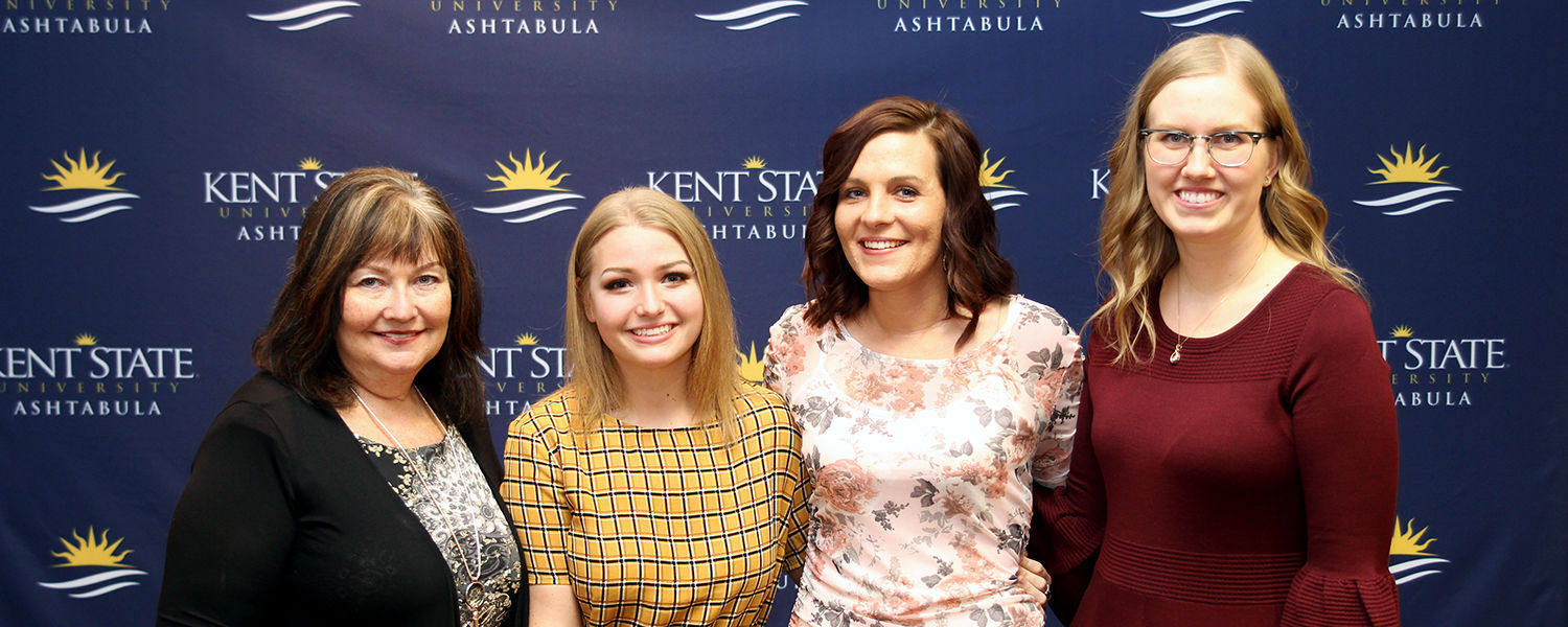 Ashtabula nursing students inducted into Alpha Delta Nu Fall 2018 class