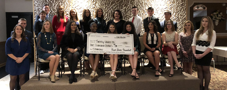 Kent Trumbull Scholarship to Twenty Under 20 Winners
