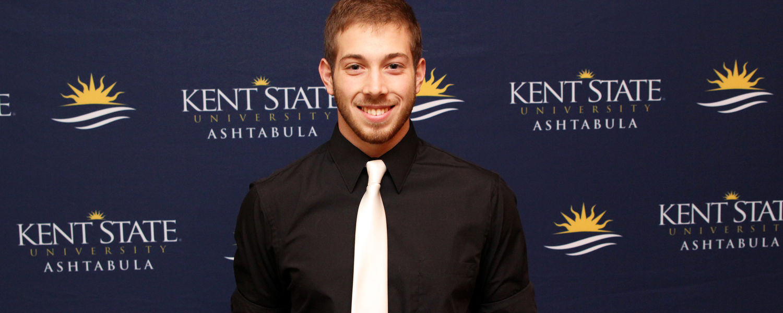 Kent State Ashtabula student Logan Leichtman was a 2016-17 scholarship recipient