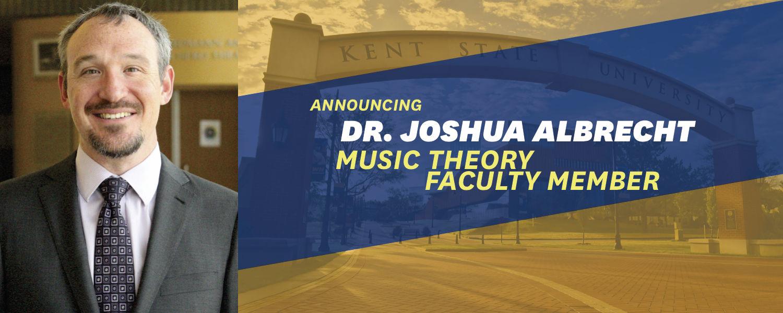 Dr. Joshua Albrecht, Music Theory