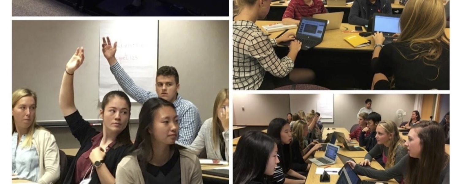 Local high school students participate in entrepreneurship workshop hosted by LaunchNET Kent State