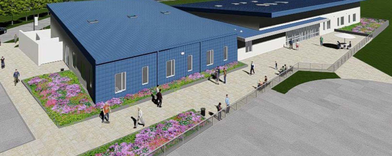 Proposed KSU Airport Classroom: South Aerial