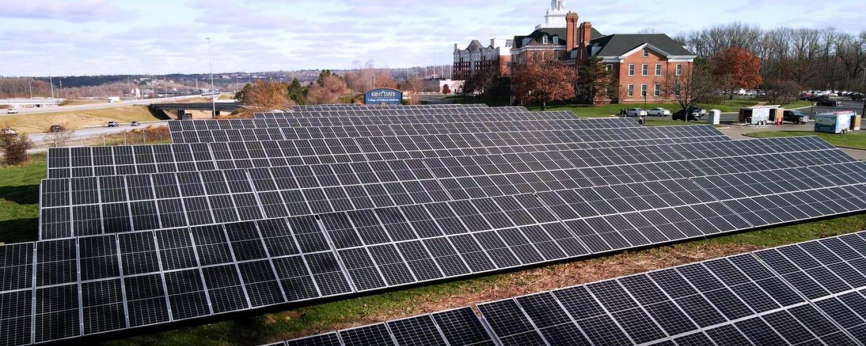 Kent State College of Podiatric Medicine Solar Array