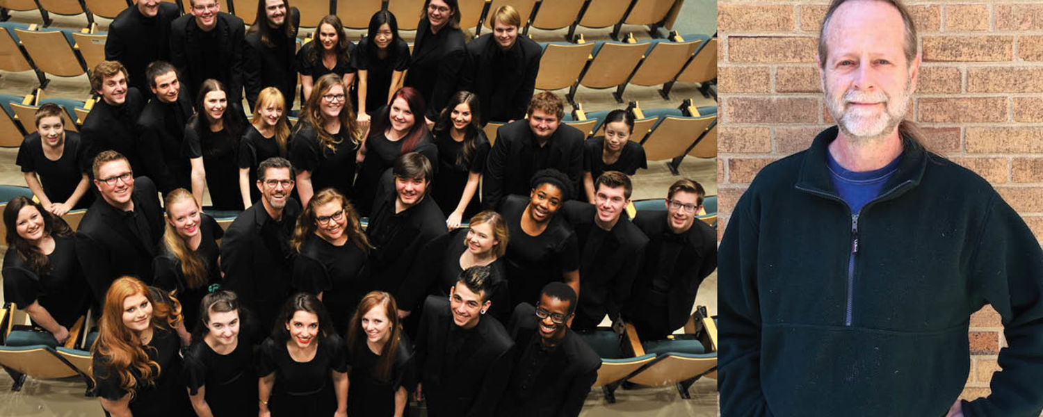 Kent State Chorale and Ted Rounds