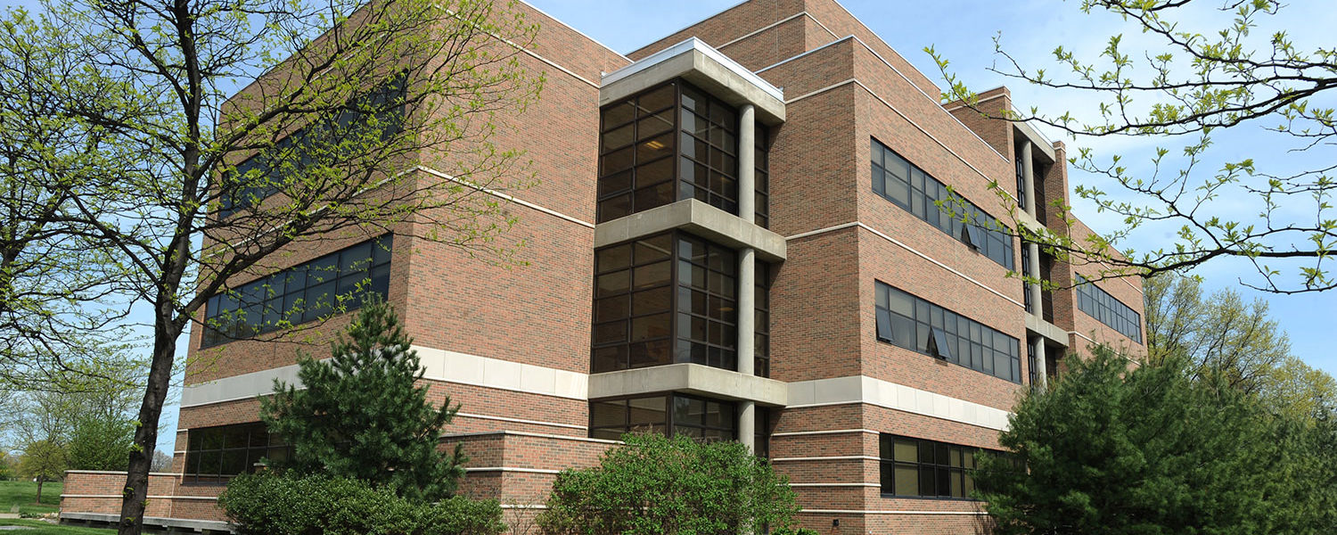The Liquid Crystal and Materials Sciences Building serves as home to Kent State's Liquid Crystal Institute.