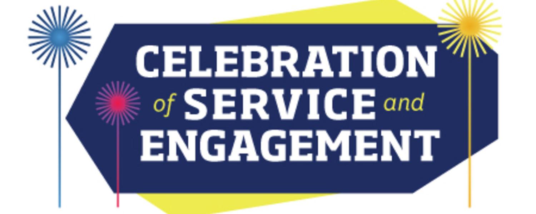 Celebration of Service Engagement logo
