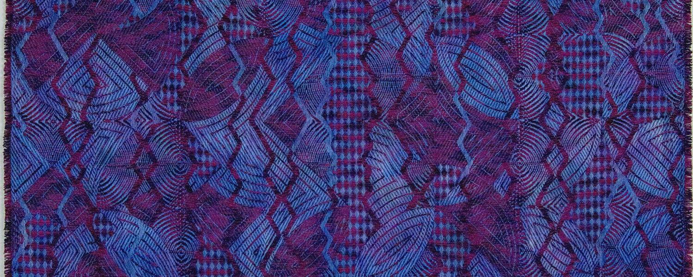 Janice Lessman-Moss weaving detail