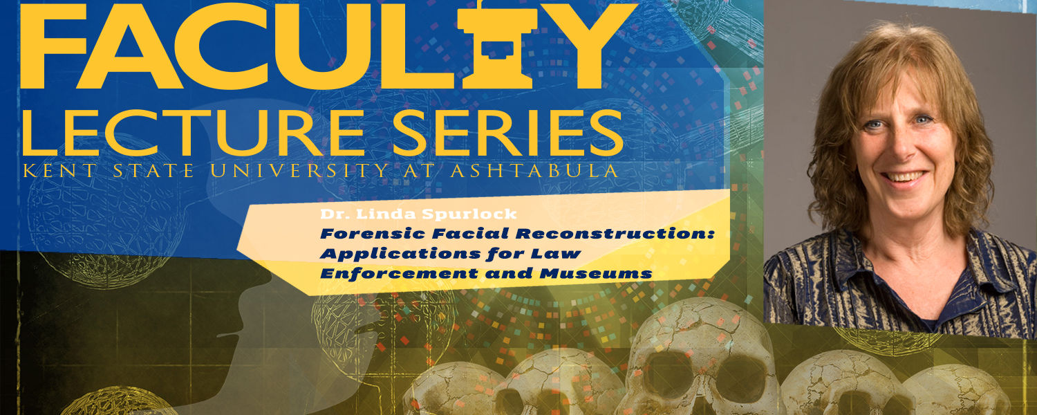 Faculty Lecture Series: Linda Spurlock Forensic Facial Recongition Promo
