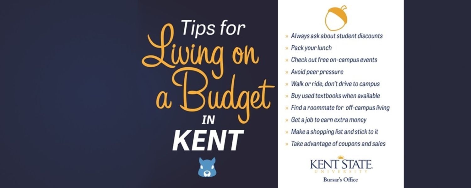 Tips for living on a budget in Kent.