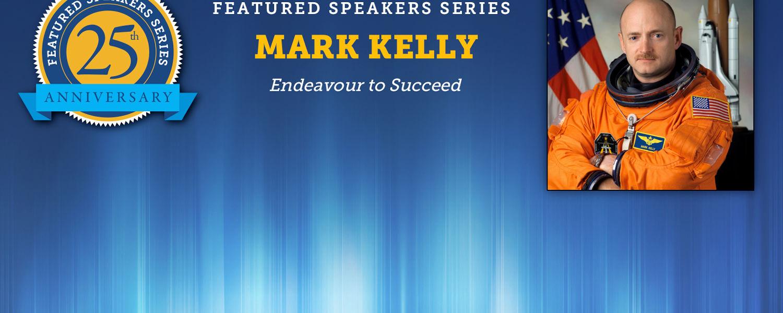 Featured Speaker Mark Kelly to speak on March 30